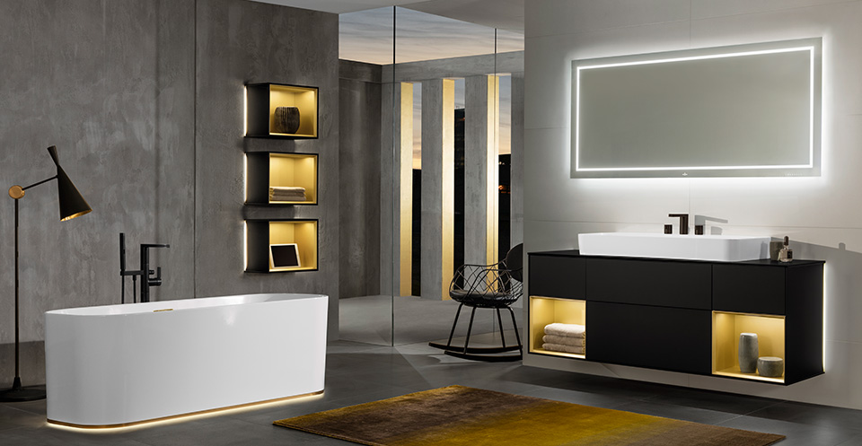 badkamer d trends van 2017. Black Bedroom Furniture Sets. Home Design Ideas
